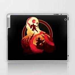 Kratos and Boy Laptop & iPad Skin