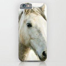 White Horse Portrait Slim Case iPhone 6s