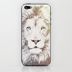 The Intellectual Lion iPhone & iPod Skin