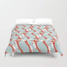 Mr. Fox Duvet Cover