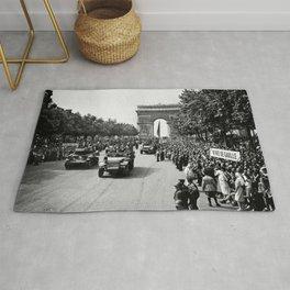 Liberation of Paris Parade - 1944 Rug