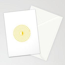 Sakura Rise (Yellow) V2 Stationery Cards