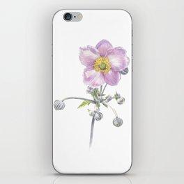 Anemone Waterclour iPhone Skin