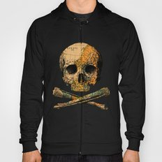 Treasure Map Skull Wanderlust Europe Hoody