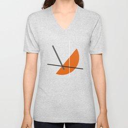 Geometric Abstract Art #8 Unisex V-Neck