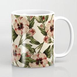 Pink Pansies : Vintage Pattern Series Coffee Mug