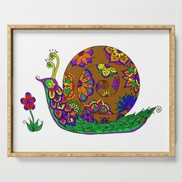 The Garden Snail Serving Tray