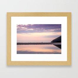 Seaside in Cornwall Framed Art Print