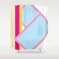 deco Shower Curtains featuring Deco by Espenbke