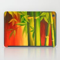 bamboo iPad Cases featuring Bamboo by OLHADARCHUK