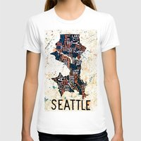 seattle T-shirts featuring Seattle by Artful Schemes