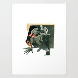 Incidencia 2 Art Print