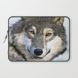 Eyes of the Wolf Laptop Sleeve