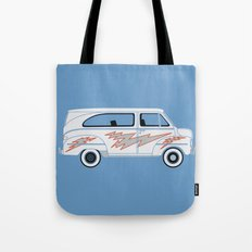 Grease Van Lightning Tote Bag