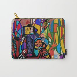 INSTRUCTION TO THE BELIEVERS: DREAM OF TRAINS (NO REST FOR THE WEARY) Carry-All Pouch