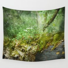 Where Miracles Are Born Wall Tapestry