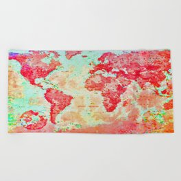 Oh, The Places We'll Go... Beach Towel