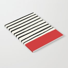 Red Chili x Stripes Notebook