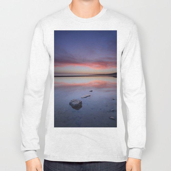 """Purple....."" Tarifa beach. Long Sleeve T-shirt"