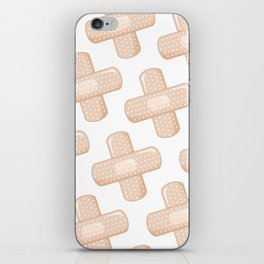 Get Well Bandaid iPhone Skin