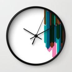 Arrow Collage Wall Clock