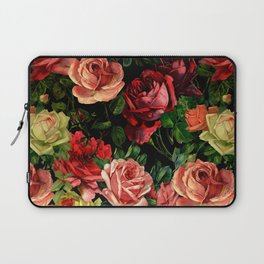 Vintage & Shabby chic - floral roses flowers rose Laptop Sleeve
