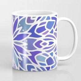 Mandala Vivid Blue Coffee Mug