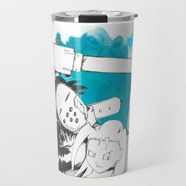 Monster Battle Travel Mug