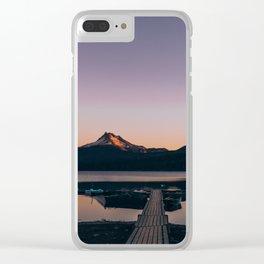 Oregon Lake Clear iPhone Case