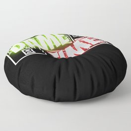 Dame Time Floor Pillow