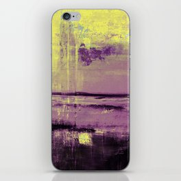 Yellow Color Patches iPhone Skin