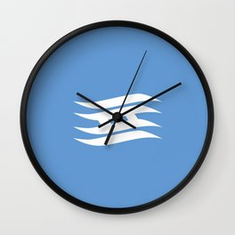 Flag of Hyogo Wall Clock