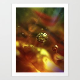 Glass Up Close Art Print