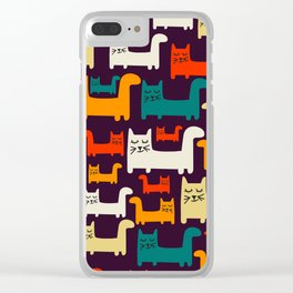 Herding Cats Clear iPhone Case