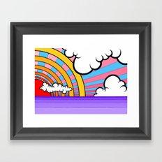 Sunray Two Framed Art Print