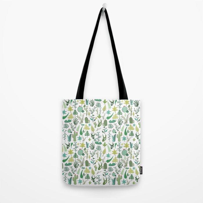 green nature Tote Bag