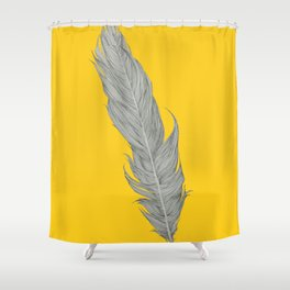 What if I fall? Oh! But what if you fly? Shower Curtain