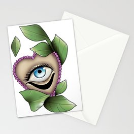 Neo trad Eye Tattoo Stationery Cards