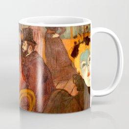 """Henri de Toulouse-Lautrec """"At the Moulins Rouge"""" Coffee Mug"""