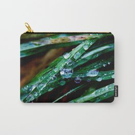 Raindrop grass Carry-All Pouch
