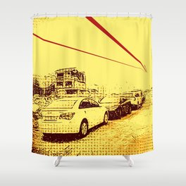 Donui-dong Shower Curtain