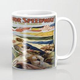 Vintage poster - Indianapolis Motor Speedway Coffee Mug