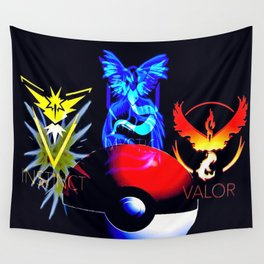 Teams Valor Mystic and Instinct Wall Tapestry