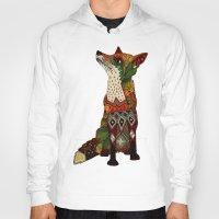 Hoodies featuring fox love juniper by Sharon Turner