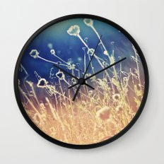 Blue and day  Wall Clock
