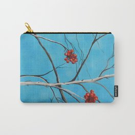 Winter Fruit Carry-All Pouch