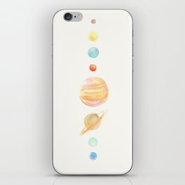 Our planets iPhone Skin