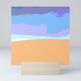 Sand dune desert sahara Mini Art Print