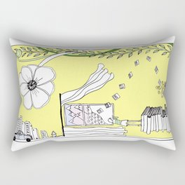 Inspiration and Dreams Rectangular Pillow