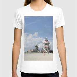 South Beach Miami Lifeguard Station T-shirt
